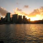 Sydney Sonnenuntergang