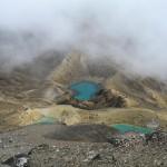 Emerald Lakes (fast hoechste Badewanne im Park, ~1800 Meter)